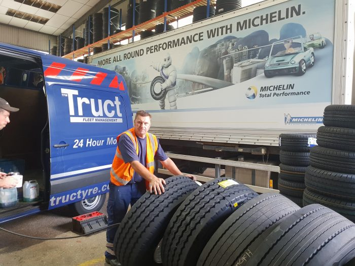 testing tyres with tructyre