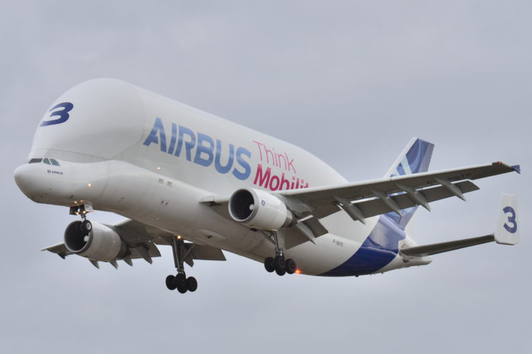 Airbus in Flight