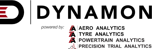 Dynamon / Aero Analytics / Tyre Analytics / Powertrain Analytics / Precision Trial Analytics
